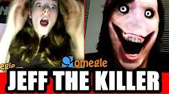 Jeff the killer on Omegle video