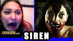Siren goes on Omegle video
